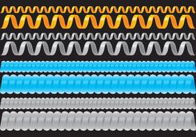 Slinky Kabel vektor