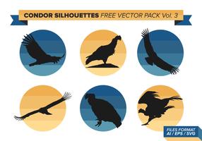 Condor Silhouetten Free Vector Pack Vol. 3