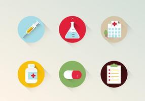 Gesundheit Vektor Icons