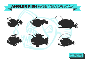 Angler Fisch Free Vector Pack