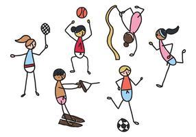 Kinder & Sport vektor