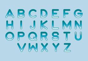 Liquid Vector Buchstaben