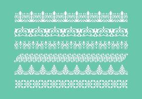 Free Lace Trim Icons Vektor