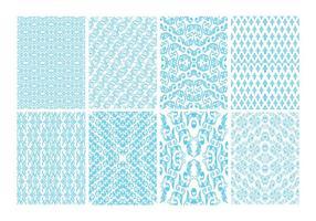 Free Toile Dekorative Muster Vektor