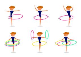 Gratis Hula Hoop Vector