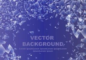 Zusammenfassung Zerschmettertes Glas Hintergrund vektor