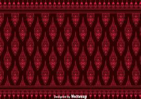 Red Songket Muster Hintergrund