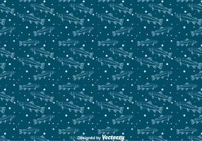 Öring sömlöst mönster vektor
