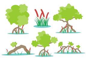 Gratis Swamp Vectors