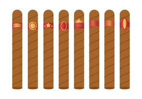 Free Cigar Label Vektor