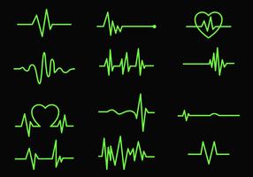 Freier Herzmonitor vektor