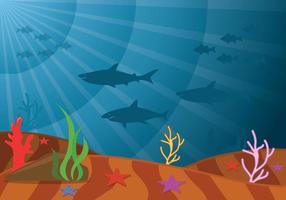 Meeresboden Vektor