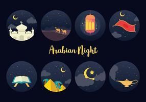 Kostenlos arabischen Nacht Vektor