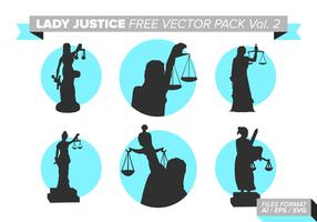 Dame Gerechtigkeit Free Vector Pack Vol. 2