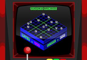 Freier Sudoku-Vektor vektor