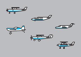 Kostenlose Cessna Vektor