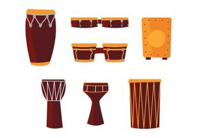 Afrikanska trummor
