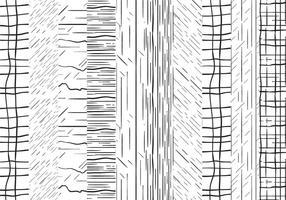 Gratis Pinstripe Patterns Vectors