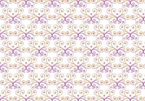 Rosa Vektor Aquarell Königlichen Hintergrund