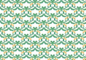 Grüne Floral Vektor Aquarell Hintergrund