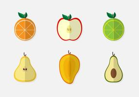 Geschnittene Leidenschaft Früchte