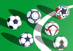 Kickball kostenloser Vektor