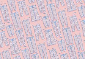 Sweatpants Muster Vektor
