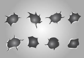 Fri metall rivare vektor
