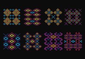 Songket Muster vektor