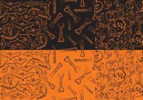 Halloween-Muster vektor