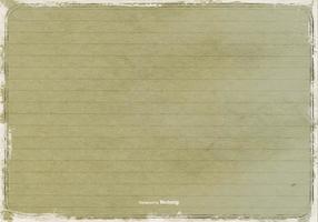 Grunge Lined Papier Textur vektor