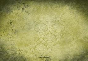 Grön Vintage Grunge Bakgrund vektor
