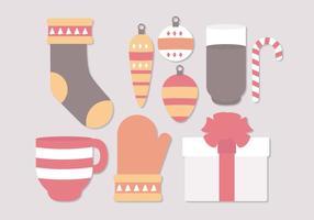 Vector Weihnachten Winter Objekte