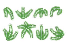 Palm söndag vektor pack