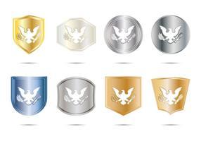 Gratis Presidential Seal Badge Vector