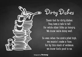 Free Dirty Bindestrich Zitat Vektor Poster