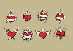 Freies heiliges Herz-Vektor