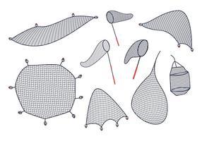 Free Fish Net Vektor