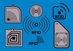 Gratis RFID-vektor vektor