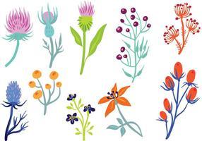 Free Wildflower 2 Vektoren