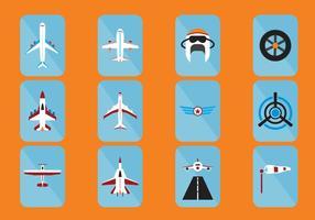 Flugzeug-Icon vektor