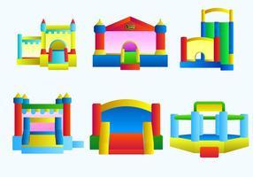 Bounce Haus freien Vektor