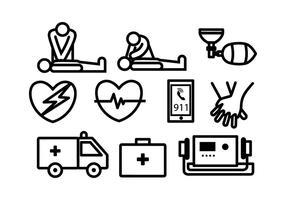 Kostenlose CPR Vektor
