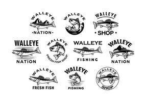 Freier Walleye Vektor