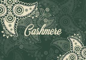 Ornament Von Kaschmir Nahtlose Muster vektor