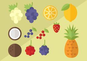 Frei Obst Vektor