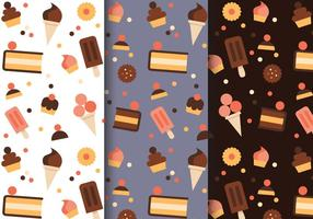 Free Pastry Pattern Vektor