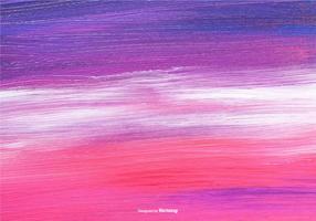 Lila Grunge gemalt Leinwand Textur vektor