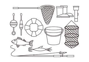 Free Fishing Net Vektor