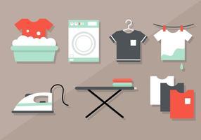 Free Wäscherei Vektor